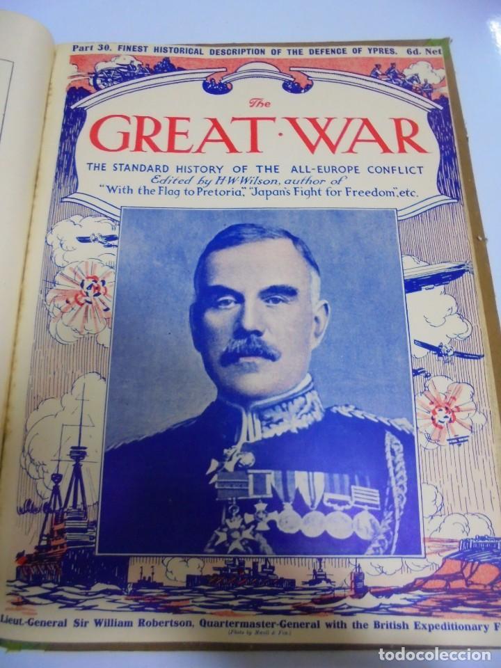 Militaria: THE GREAT WAR. 1915. H.W.WILSON. DEL Nº 20 A Nº 32. HISTORIA DEL CONFLICTO DE TODA EUROPA. VER - Foto 13 - 149318482