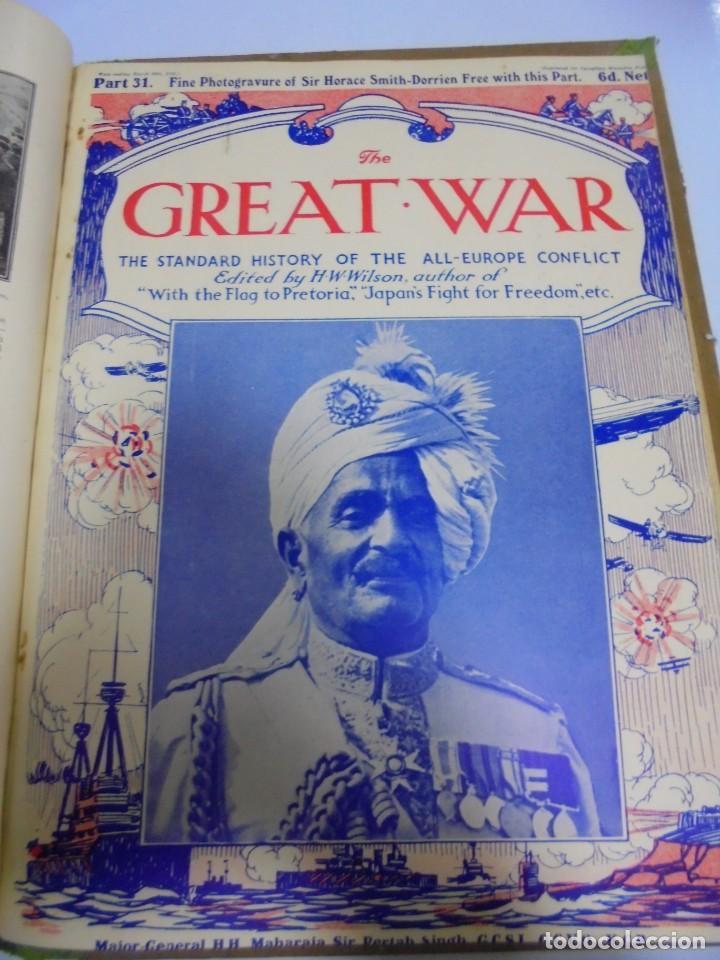 Militaria: THE GREAT WAR. 1915. H.W.WILSON. DEL Nº 20 A Nº 32. HISTORIA DEL CONFLICTO DE TODA EUROPA. VER - Foto 14 - 149318482