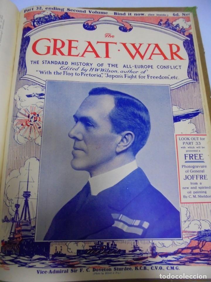 Militaria: THE GREAT WAR. 1915. H.W.WILSON. DEL Nº 20 A Nº 32. HISTORIA DEL CONFLICTO DE TODA EUROPA. VER - Foto 15 - 149318482