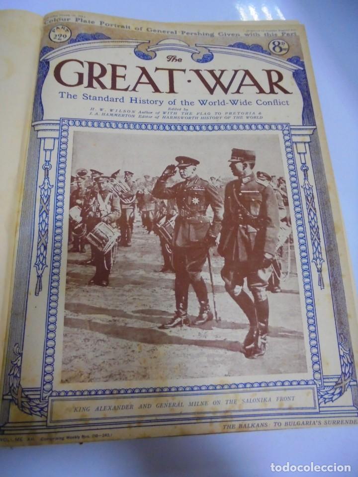 Militaria: THE GREAT WAR. 1919. H.W.WILSON. DEL Nº 229 A Nº 241. HISTORIA DEL CONFLICTO MUNDIAL. VER - Foto 3 - 149320638