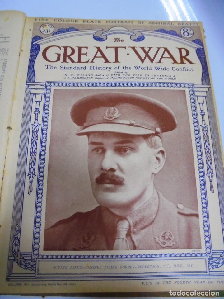 Militaria: THE GREAT WAR. 1919. H.W.WILSON. DEL Nº 229 A Nº 241. HISTORIA DEL CONFLICTO MUNDIAL. VER - Foto 5 - 149320638