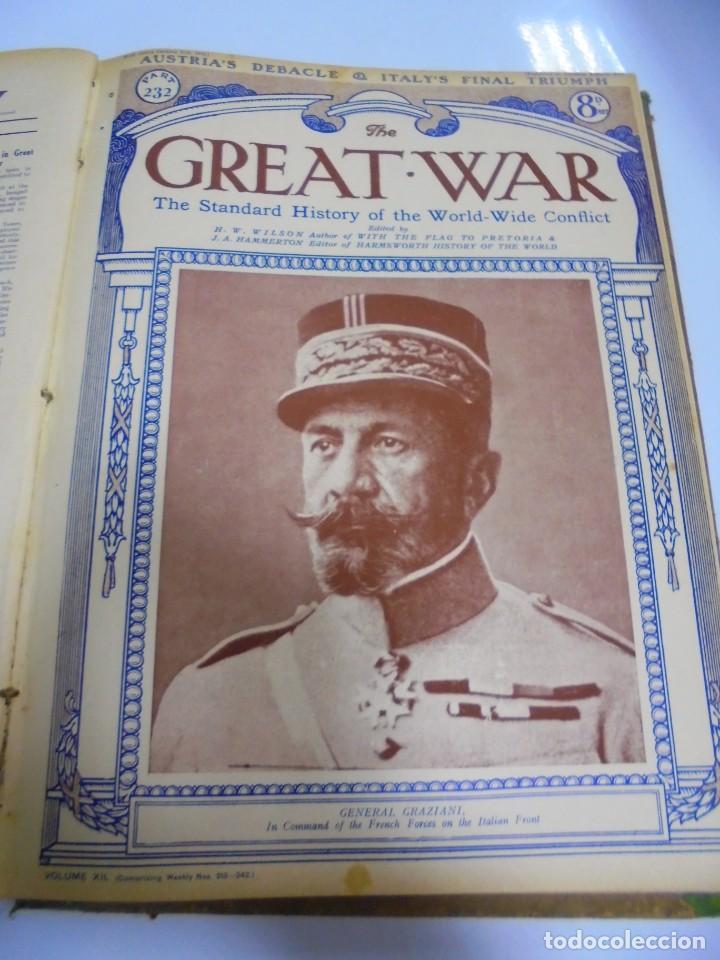 Militaria: THE GREAT WAR. 1919. H.W.WILSON. DEL Nº 229 A Nº 241. HISTORIA DEL CONFLICTO MUNDIAL. VER - Foto 6 - 149320638