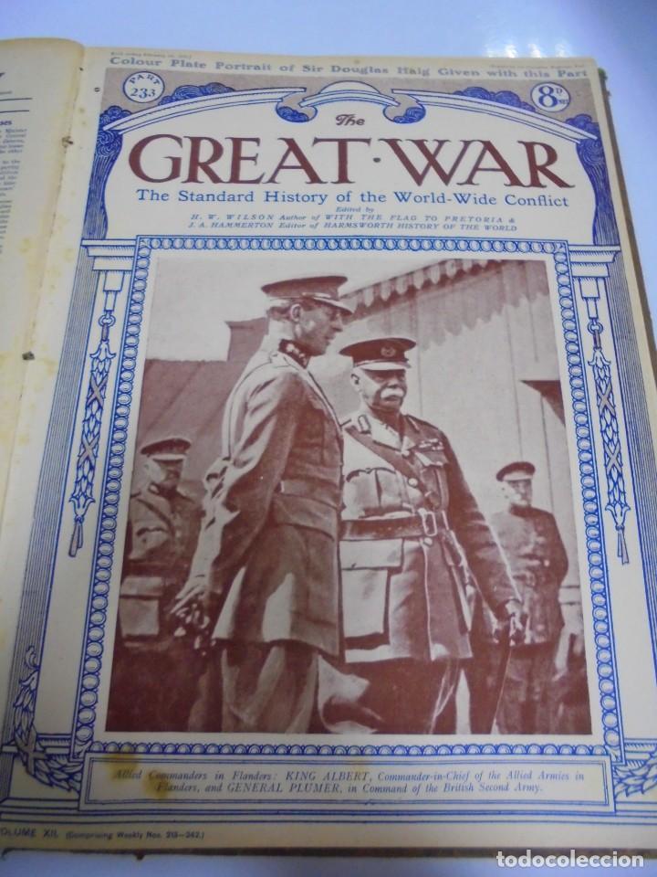 Militaria: THE GREAT WAR. 1919. H.W.WILSON. DEL Nº 229 A Nº 241. HISTORIA DEL CONFLICTO MUNDIAL. VER - Foto 7 - 149320638