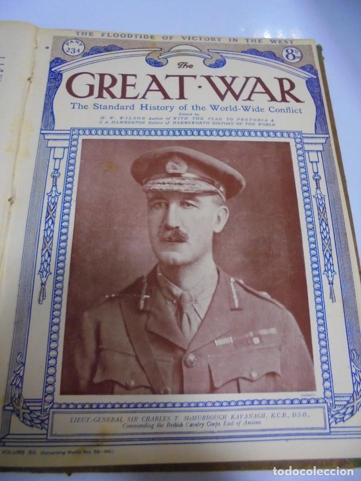 Militaria: THE GREAT WAR. 1919. H.W.WILSON. DEL Nº 229 A Nº 241. HISTORIA DEL CONFLICTO MUNDIAL. VER - Foto 8 - 149320638