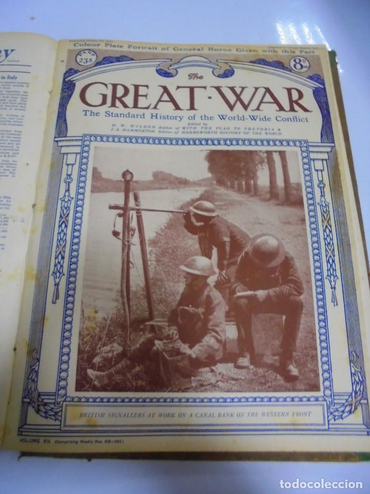 Militaria: THE GREAT WAR. 1919. H.W.WILSON. DEL Nº 229 A Nº 241. HISTORIA DEL CONFLICTO MUNDIAL. VER - Foto 9 - 149320638