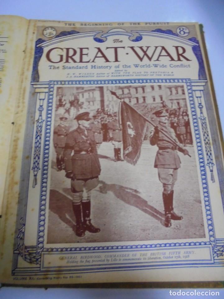 Militaria: THE GREAT WAR. 1919. H.W.WILSON. DEL Nº 229 A Nº 241. HISTORIA DEL CONFLICTO MUNDIAL. VER - Foto 10 - 149320638