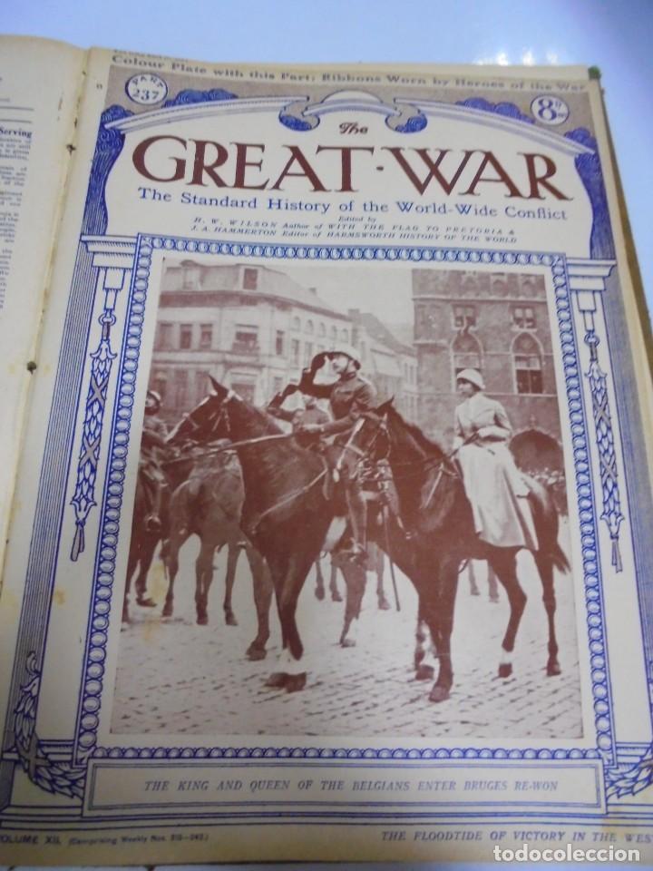 Militaria: THE GREAT WAR. 1919. H.W.WILSON. DEL Nº 229 A Nº 241. HISTORIA DEL CONFLICTO MUNDIAL. VER - Foto 11 - 149320638