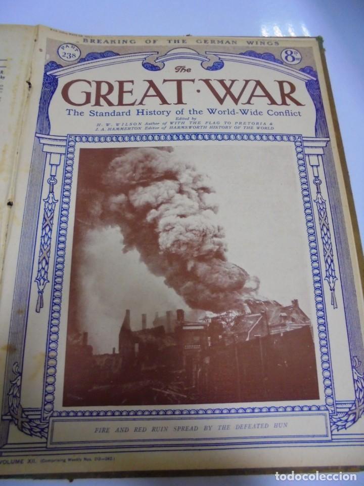 Militaria: THE GREAT WAR. 1919. H.W.WILSON. DEL Nº 229 A Nº 241. HISTORIA DEL CONFLICTO MUNDIAL. VER - Foto 12 - 149320638