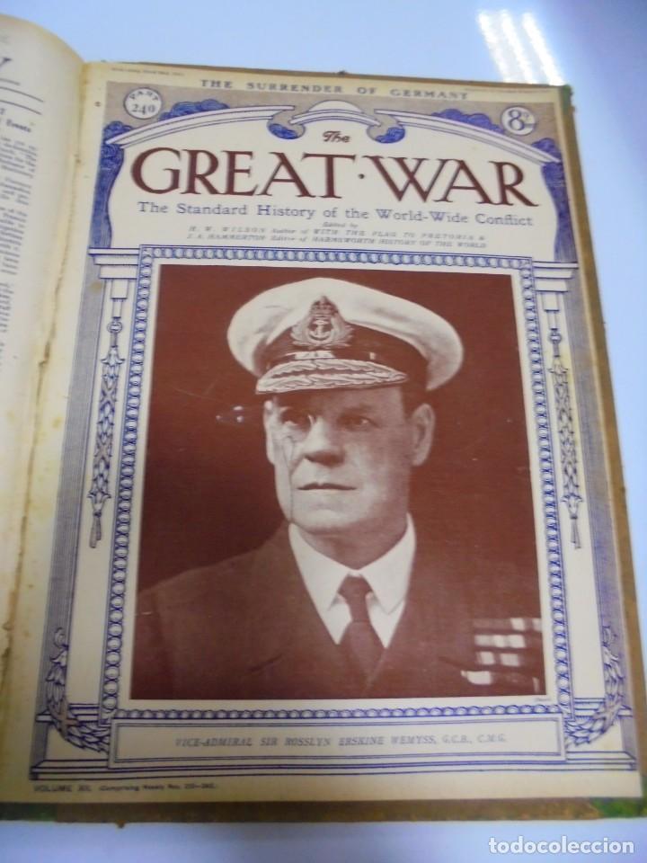 Militaria: THE GREAT WAR. 1919. H.W.WILSON. DEL Nº 229 A Nº 241. HISTORIA DEL CONFLICTO MUNDIAL. VER - Foto 13 - 149320638