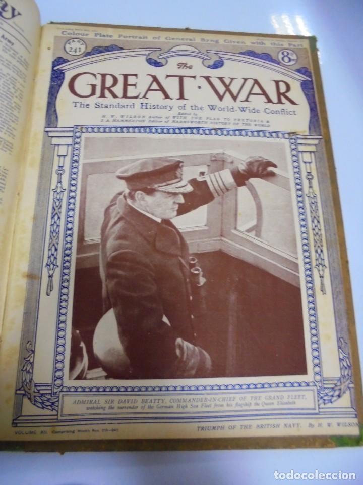 Militaria: THE GREAT WAR. 1919. H.W.WILSON. DEL Nº 229 A Nº 241. HISTORIA DEL CONFLICTO MUNDIAL. VER - Foto 14 - 149320638