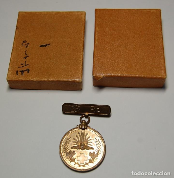 Militaria: MEDALLA DE PLATA DE LA CRUZ ROJA DE JAPON DE LA GUERRA RUSO-JAPONESA DE 1904-1905. - Foto 2 - 150961466