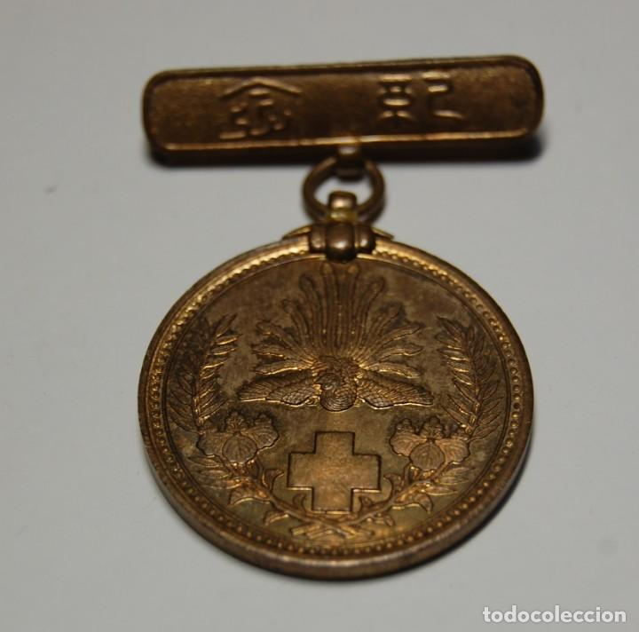 Militaria: MEDALLA DE PLATA DE LA CRUZ ROJA DE JAPON DE LA GUERRA RUSO-JAPONESA DE 1904-1905. - Foto 3 - 150961466