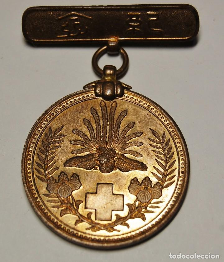 Militaria: MEDALLA DE PLATA DE LA CRUZ ROJA DE JAPON DE LA GUERRA RUSO-JAPONESA DE 1904-1905. - Foto 4 - 150961466