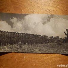 Militaria: ANTIGUA FOTOGRAFÍA PRIMERA IWW - 1ª GUERRA MUNDIAL - SIN DETERMINAR POR EL MOMENTO - 23 X 11 CM. . Lote 154365738