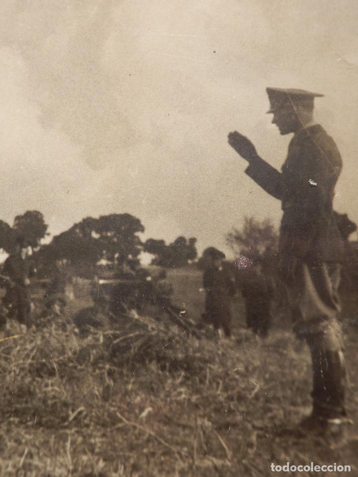 Militaria: Antigua fotografía Primera IWW - 1ª Guerra Mundial - Sin determinar por el momento - 23 x 11 cm. - Foto 2 - 154365738