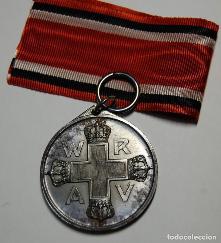 Militaria: RARA MEDALLA AL MERITO DE LA CRUZ ROJA DE 2ª CLASE DE PRUSIA.PRIMERA GUERRA MUNDIAL. - Foto 8 - 155653646