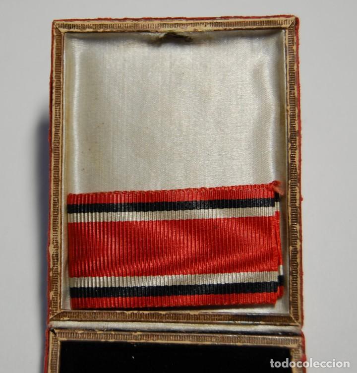 Militaria: RARA MEDALLA AL MERITO DE LA CRUZ ROJA DE 1ª CLASE DE PRUSIA.PRIMERA GUERRA MUNDIAL. - Foto 2 - 155654954
