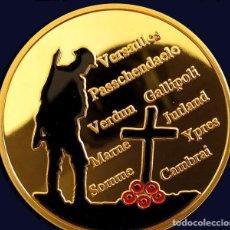Militaria: MONEDA ESPECIAL CONMEMORATIVA A LOS CAIDOS EN LA PRIMERA GUERRA MUNDIAL. Lote 155688914