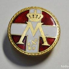 Militaria: MINIATURA DE OJAL DE LA MARINA REAL DE DINAMARCA.1ª GUERRA MUNDIAL. Lote 147493578