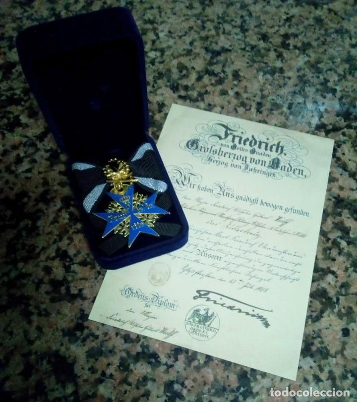 Militaria: Pour le Mérite.Blauer Max,medalla - Foto 2 - 193856767