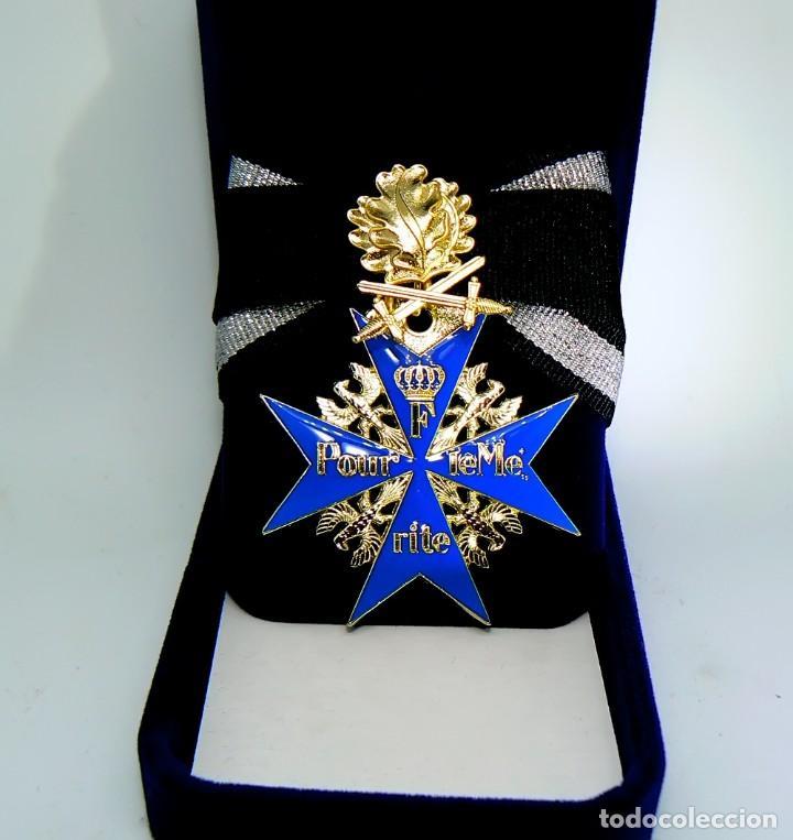 Militaria: Pour le Mérite.Blauer Max,medalla - Foto 4 - 193856767