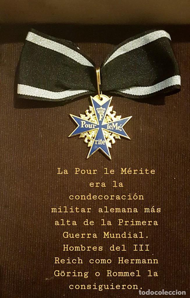 Militaria: Pour le Mérite.Blauer Max,medalla - Foto 7 - 193856767