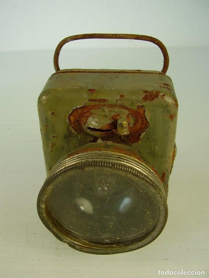 Militaria: Linterna. I Guerra Mundial - Foto 2 - 173476212