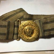 Militaria: ALEMANIA I WW, CINTURÓN DE GALA PARA OFICIAL PRUSIANO, ORIGINAL, BUEN ESTADO.. Lote 175192277