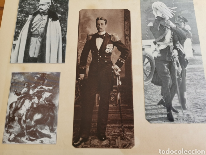 Militaria: 14 hojas de Álbum con recortes militares de Periódicos de la primera Guerra Mundial - Foto 6 - 176911850