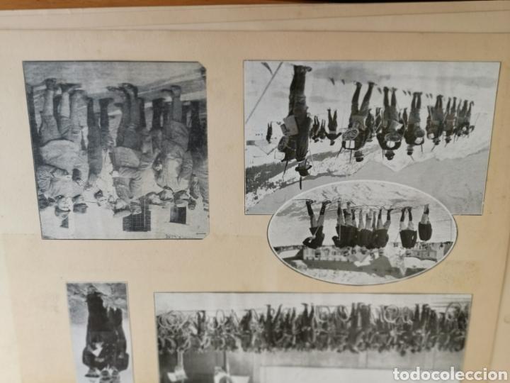 Militaria: 14 hojas de Álbum con recortes militares de Periódicos de la primera Guerra Mundial - Foto 9 - 176911850