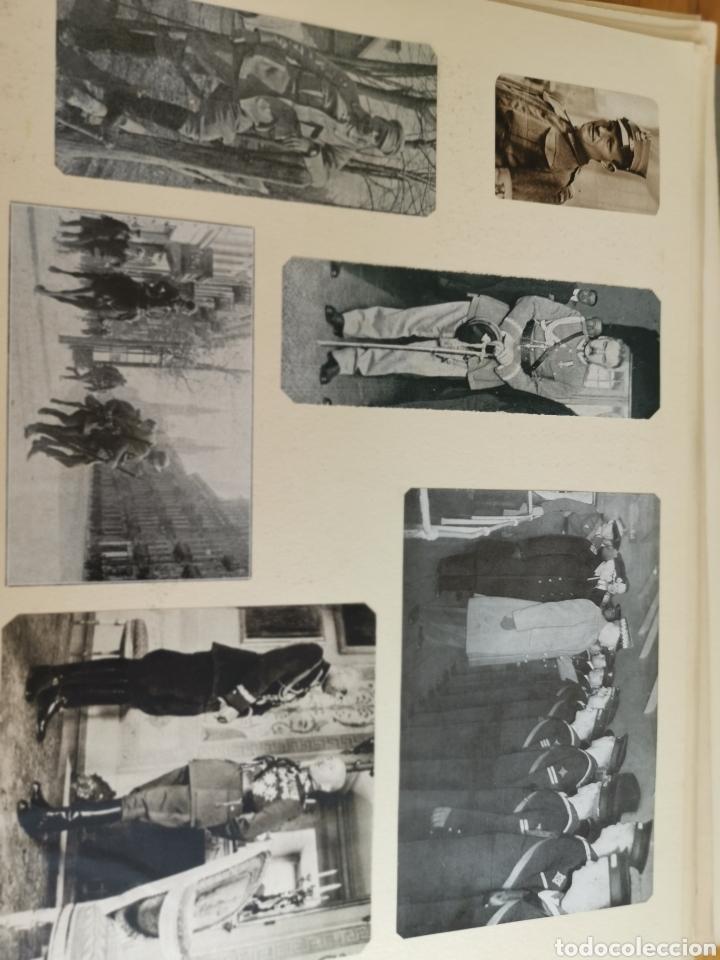 Militaria: 14 hojas de Álbum con recortes militares de Periódicos de la primera Guerra Mundial - Foto 12 - 176911850