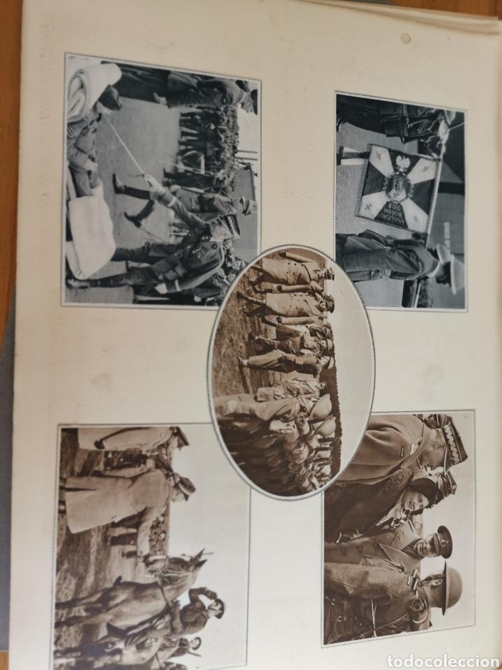Militaria: 14 hojas de Álbum con recortes militares de Periódicos de la primera Guerra Mundial - Foto 14 - 176911850