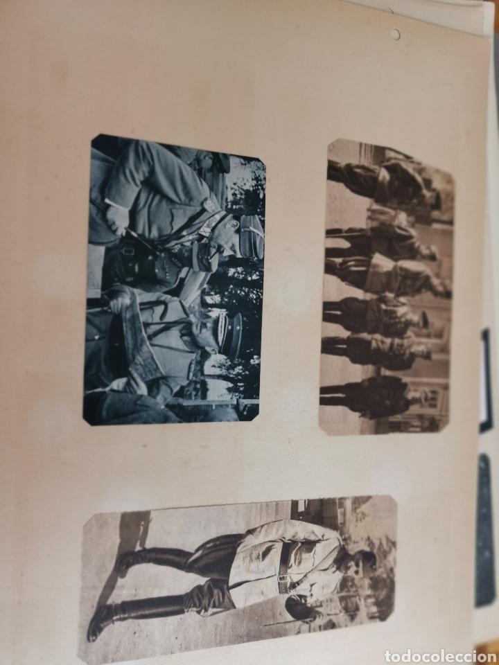 Militaria: 14 hojas de Álbum con recortes militares de Periódicos de la primera Guerra Mundial - Foto 19 - 176911850