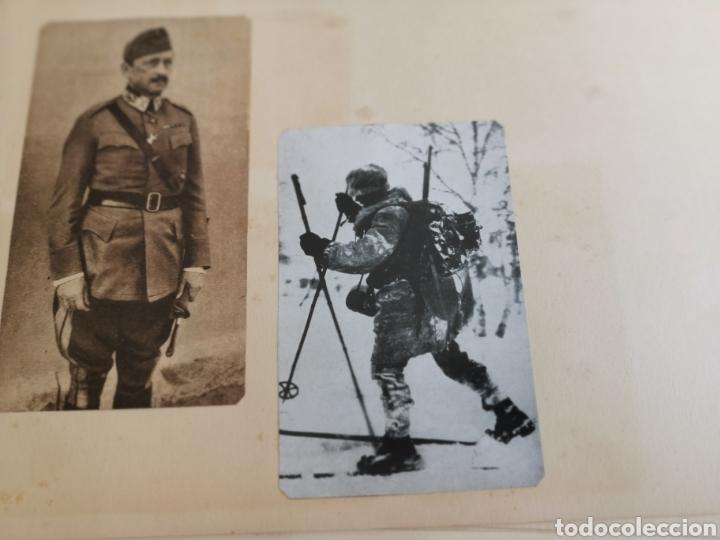 Militaria: 14 hojas de Álbum con recortes militares de Periódicos de la primera Guerra Mundial - Foto 20 - 176911850