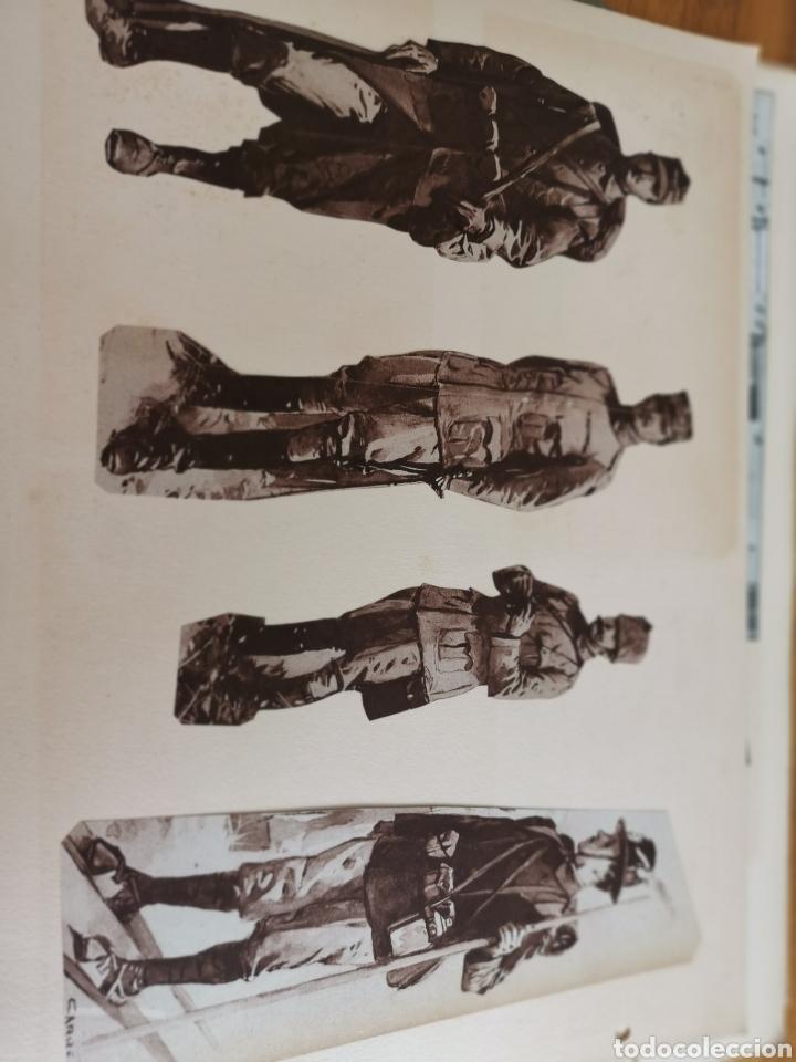 Militaria: 14 hojas de Álbum con recortes militares de Periódicos de la primera Guerra Mundial - Foto 23 - 176911850