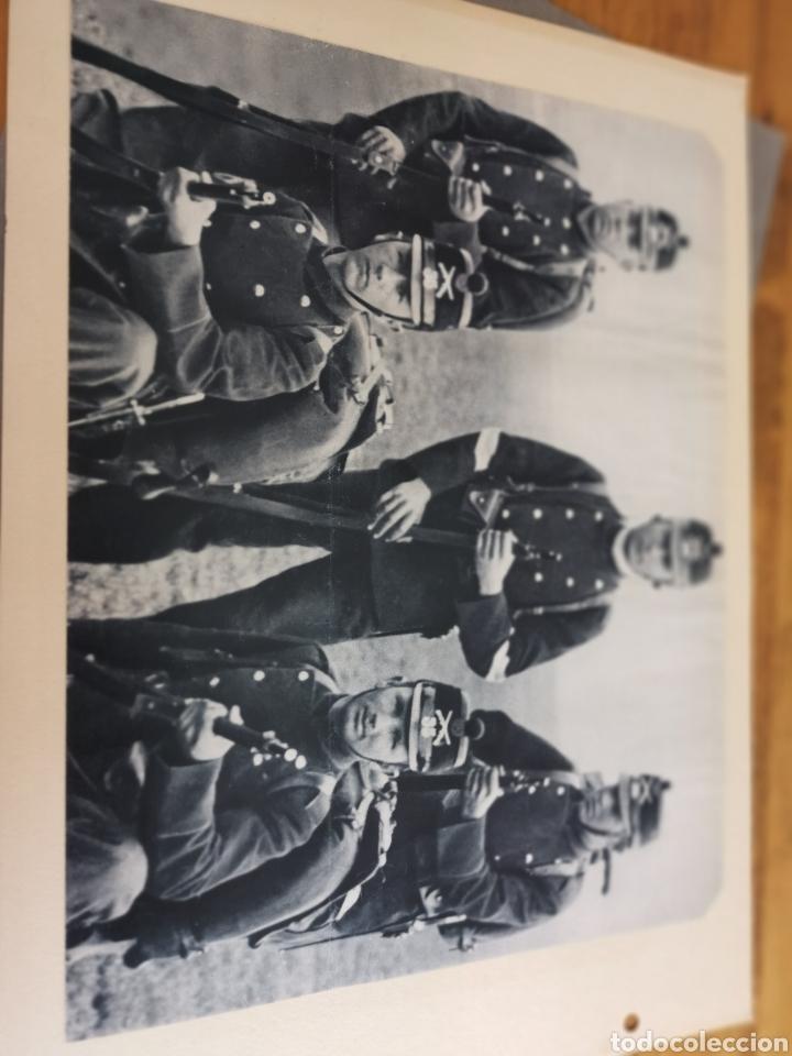 Militaria: 14 hojas de Álbum con recortes militares de Periódicos de la primera Guerra Mundial - Foto 26 - 176911850