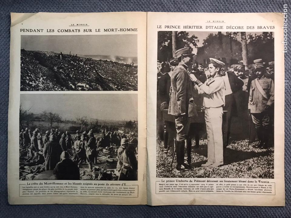 Militaria: MILITAR, 1a. Guerra Mundial. Periodico frances LE MIROIR. No.137, 9 de Julio de 1916. - Foto 2 - 177426393