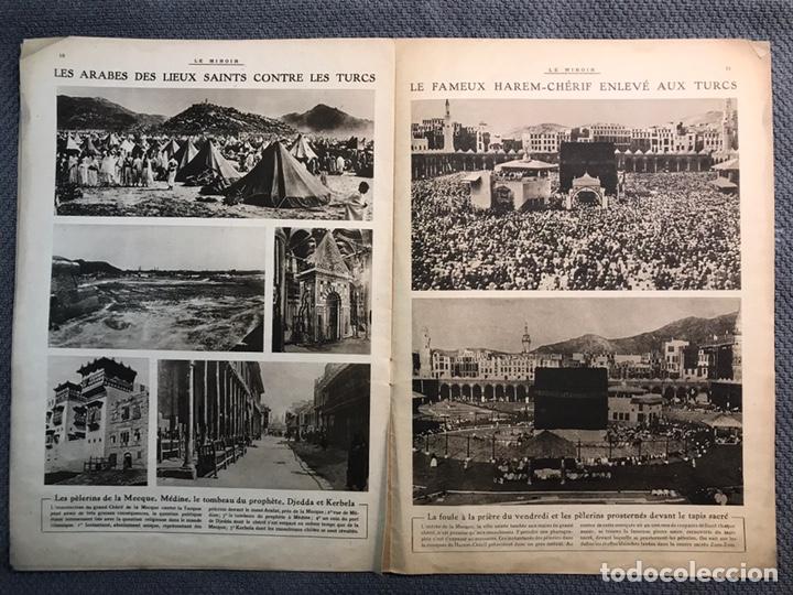 Militaria: MILITAR, 1a. Guerra Mundial. Periodico frances LE MIROIR. No.137, 9 de Julio de 1916. - Foto 3 - 177426393