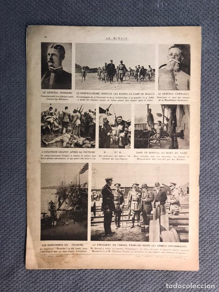 Militaria: MILITAR, 1a. Guerra Mundial. Periodico frances LE MIROIR. No.137, 9 de Julio de 1916. - Foto 4 - 177426393