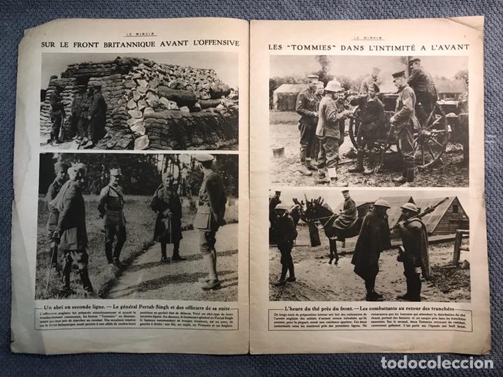 Militaria: MILITAR, 1a. Guerra Mundial. Periodico frances LE MIROIR. No.138, 16 de Julio de 1916. - Foto 3 - 177427369