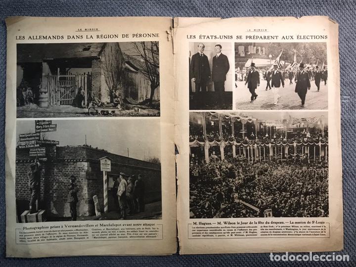 Militaria: MILITAR, 1a. Guerra Mundial. Periodico frances LE MIROIR. No.138, 16 de Julio de 1916. - Foto 4 - 177427369