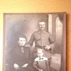 Militaria: FOTOGRAFIA FAMILIAR MILITAR ALEMAN , 1ª GUERRA MUNDIAL. Lote 177498132
