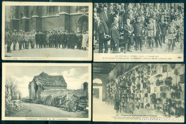LOTE 35 POSTALES ORIGINALES 1ª GUERRA MUNDIAL (Militar - I Guerra Mundial)