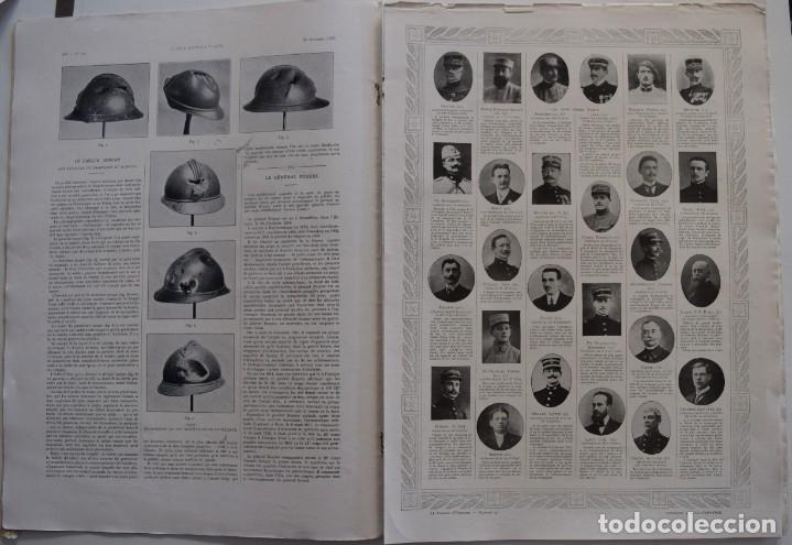 Militaria: LOTE TRES NÚMEROS L´ILLUSTRATION JOURNAL UNIVERSEL DEL AÑO 1915 CON NUMEROSA INFORMACIÓN GRÁFICA - Foto 3 - 179093725