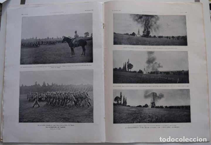 Militaria: LOTE TRES NÚMEROS L´ILLUSTRATION JOURNAL UNIVERSEL DEL AÑO 1915 CON NUMEROSA INFORMACIÓN GRÁFICA - Foto 4 - 179093725