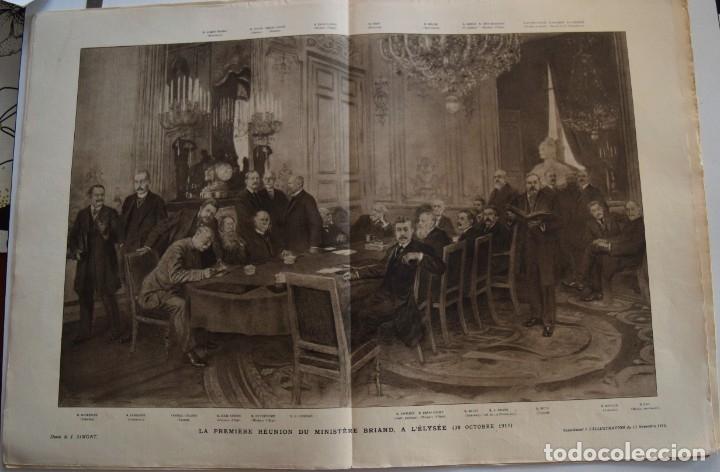 Militaria: LOTE TRES NÚMEROS L´ILLUSTRATION JOURNAL UNIVERSEL DEL AÑO 1915 CON NUMEROSA INFORMACIÓN GRÁFICA - Foto 10 - 179093725