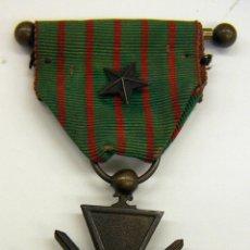 Militaria: MEDALLA FRANCESA CRUZ DEL COMBATIENTE 1914/1918. Lote 183673118