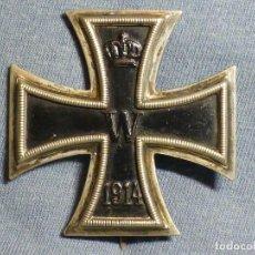 Militaria: CRUZ DE HIERRO DE 1ª CLASE, I GUERRA MUNDIAL (1914-18), MARCAJE KO, EXCELENTE ESTADO. UN CLÁSICO.. Lote 185250332