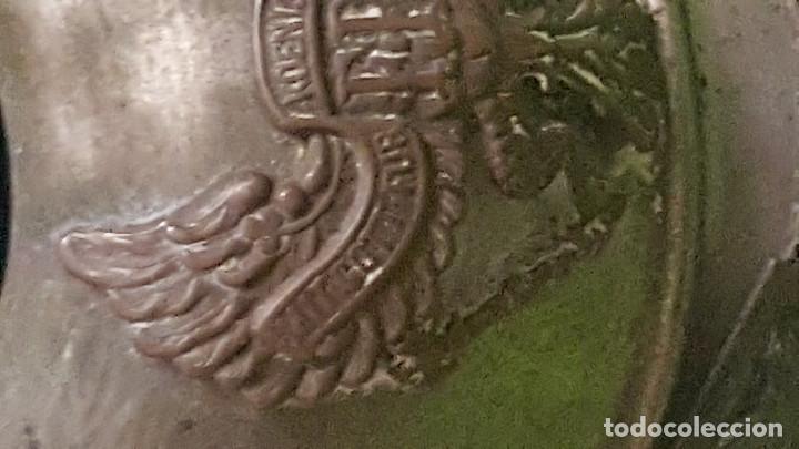Militaria: ARTE DE TRINCHERA - CASCO ALEMAN PRUSIA ¿TINTERO? DESCONOZCO SU USO - Foto 2 - 186278686
