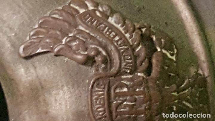 Militaria: ARTE DE TRINCHERA - CASCO ALEMAN PRUSIA ¿TINTERO? DESCONOZCO SU USO - Foto 3 - 186278686